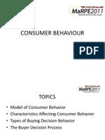 Consumer Behavior Part1