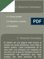 2. Diseñar formatos