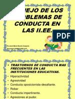 (3)Manejo de Los Problemas de Conducta