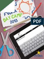 FVSRA Summer Day Camp 2013