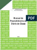 Manual do Diário de Classe