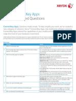 ConnectKey Apps FAQ