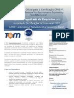 Treinamento Oficial Certificacao CPRE
