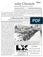 Kimberley Chronicle Issue # 37 A Blarchmont Cold Case