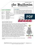 Beagle Elementary School Newsletter December 20 2013