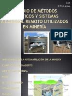 ESTUDIO DE MÉTODOS ROBÓTICOS Y SISTEMAS