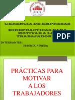 Exposicion de Gerencia de Empresas.
