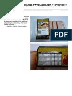 Filetes de Pechuga de Pavo Adobada 1 Propoint Por Unidad