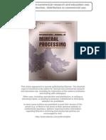 S. Castro Et Al. Int. J.miner. Process. 2013.