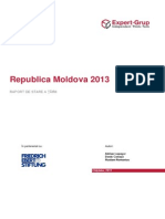 Republica Moldova 2013 Raport de Stare a Tarii