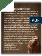 P. Dávila (El Lenguaje de la Oración)