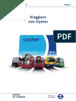 Italian Oyster Guide Leaflet