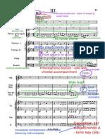 Mozart Horn Concerto No. 4 in Eb Major (Rondo) - Annotated Score