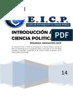 TALLER DE INTRODUCCIÓN A LA CIENCIA POLÍTICA CEICP