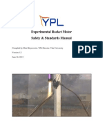 Experimental Rocket Motor Safety & Standards Manual