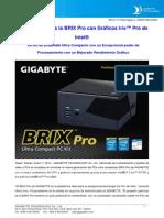 2013gbt Brix Pro Nr e