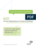 SAT II US History