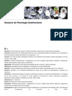 Glosario de Petrología Sedimentaria