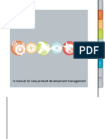 A manual for new product development management