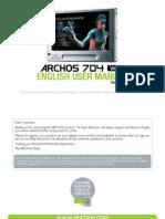 English - User Manual - Archos 704 Wifi - V1