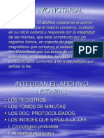 Archivo Notarial 2012