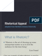 rhetorical appeal