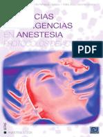 Urgencias y emergencias en anestesia
