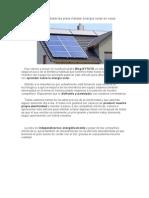 Calcular paneles y baterías para instalar energía solar en casa