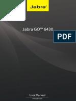 User Manual Jabra GO-6430 En