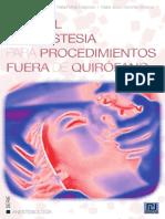 Manual de anestesia para procedimientos fuera de quirófano