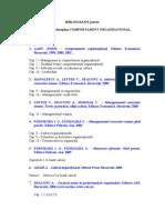 Bibliografie Examen CO