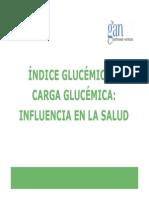 ÍNDICE GLUCÉMICO Y carga glucemica