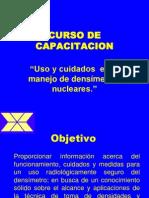 Curso capacitación densímetros