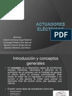 Presentacion Actuadores Electricos PDF