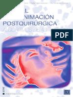 Manual de reanimación postquirúrgica. Algoritmos de actuación