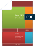 Group 4_Sugar CRM Evaluation