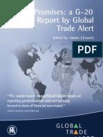 Rapport sur le protectionnisme, de Global Trade Alert