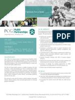 PCG Public Partnerships Case Study, AZ DDD Program