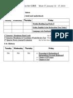 student planner week 17