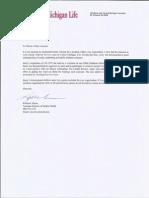 CML Letter