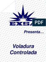 Voladura Controlada -Exsa