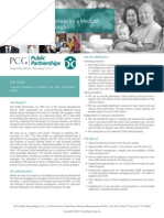 PCG Public Partnerships Case Study, Colorado Department of Health Care Policy and Finance (HCPF)