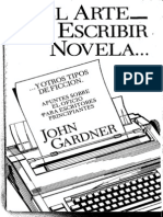 El Arte de Escribir Novela