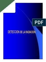 Deteccion de La Radiacion