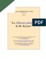 Theorie Generale Keynes