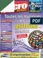 micro hebdo n°596 du 17 au 23 sept 2009