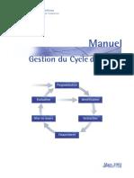 Manuel Gestion Du Cycle de Projet