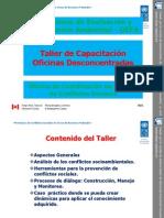 Taller 1. PNUD. Ronald Ibarra