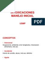 Clase 14.1 Intoxicaciones