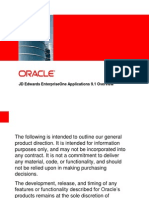 Jd Edwards Enterpriseone 91 Functional Ppt